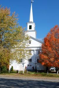 Church 2 trees